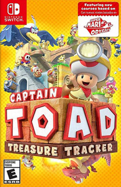 Captain Toad: Treasure Tracker Switch Switch Nsp Multilanguage English Update Dlc